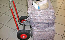 Packdecken / Transportdecke